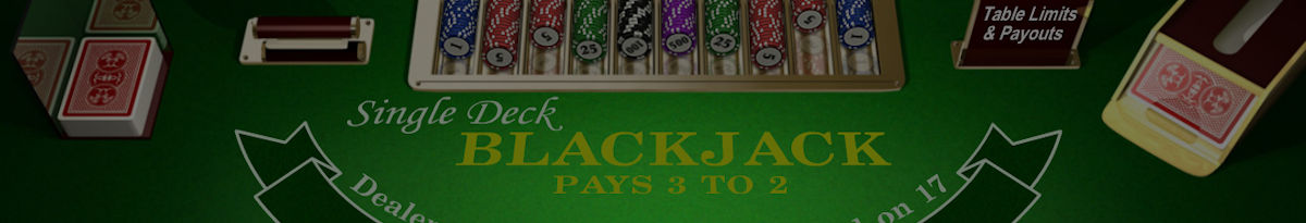 Vienos malkos Blackjack